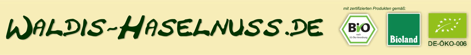 Logo Waldis Haselnuss